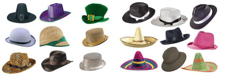tipos de sombrero